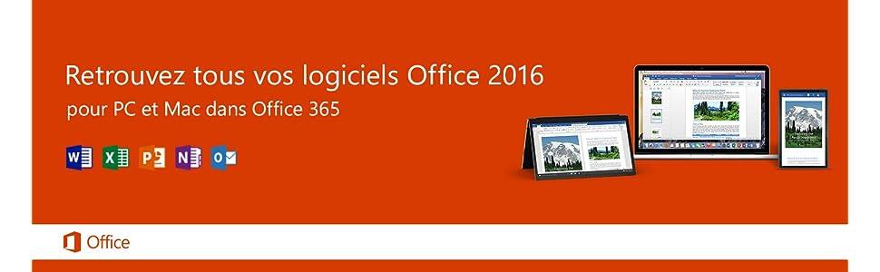 Office 365 Personnel 1 PC ou Mac + 1 tablette 1 an d'abonnement