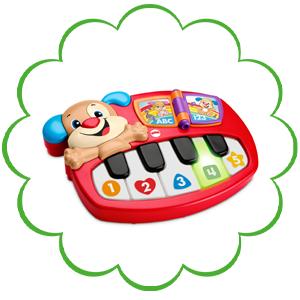 Fisher-Price Rires & Eveil Le Piano de Puppy