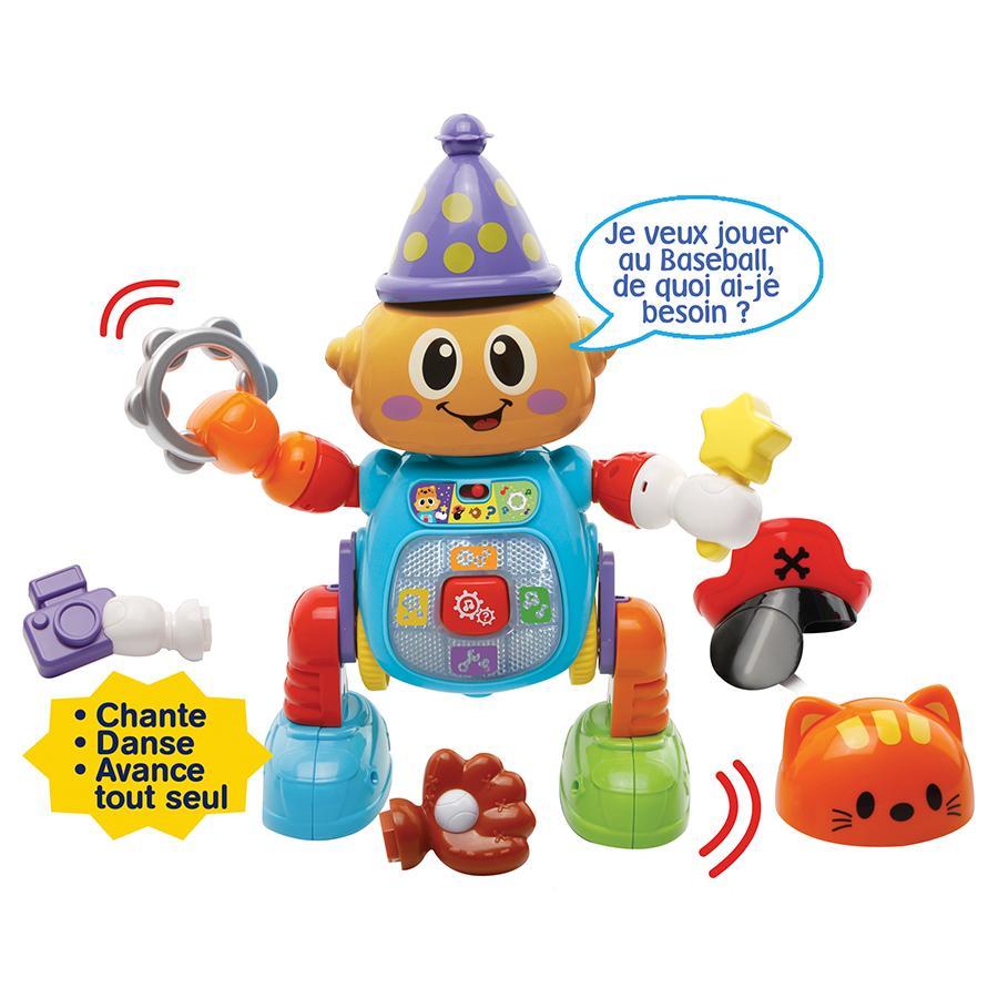 VTech - 190005 - Zingoloco - Mon Robot Rigolo: Amazon.fr: Jeux et Jouets
