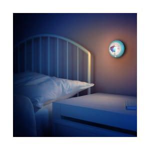 philips veilleuse murale reine des neiges disney d tecteur de mouvement lampe enfant. Black Bedroom Furniture Sets. Home Design Ideas