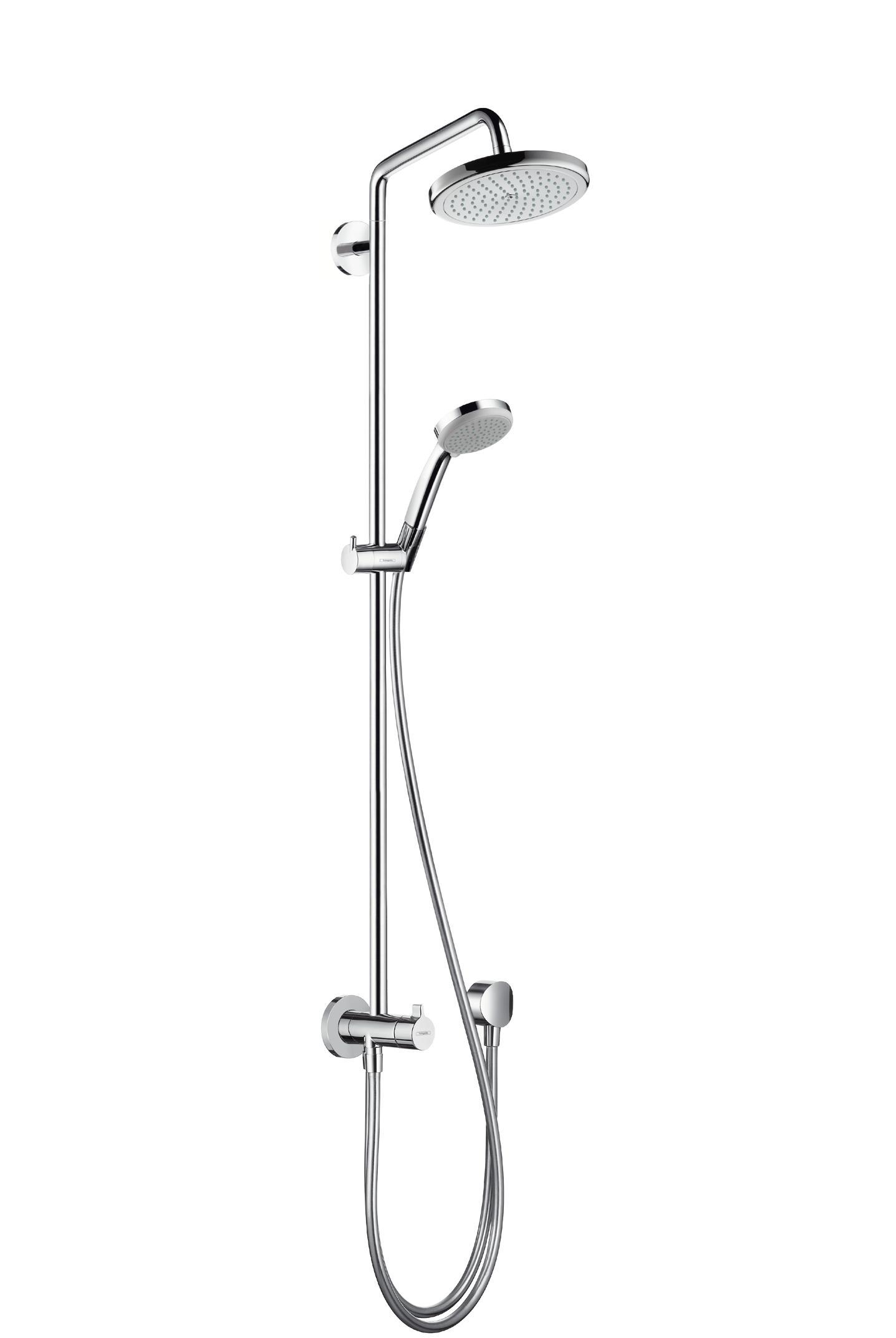 Hansgrohe colonne de douche showerpipe pour baignoire - Colonne de douche hansgrohe ...