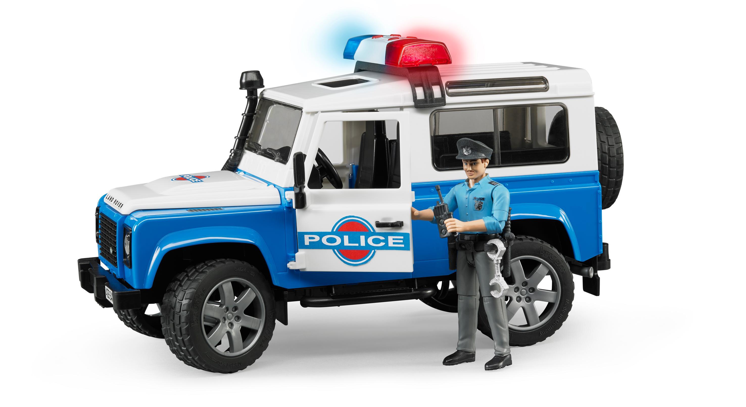 Avec 02526 Bruder Rubicon Police Jeep Wrangler Unlimited Policier dtshQCxr