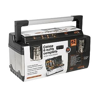 elite premium 922026 caisse outils en acier inoxydable. Black Bedroom Furniture Sets. Home Design Ideas