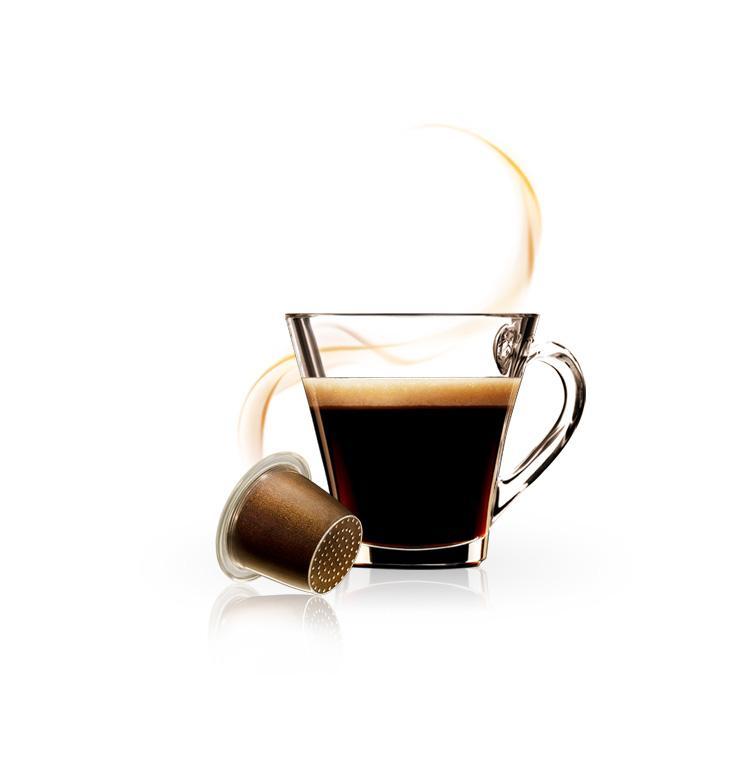 l 39 or espresso supremo 10 capsules compatibles avec les machines caf nespresso lot de 4 40. Black Bedroom Furniture Sets. Home Design Ideas