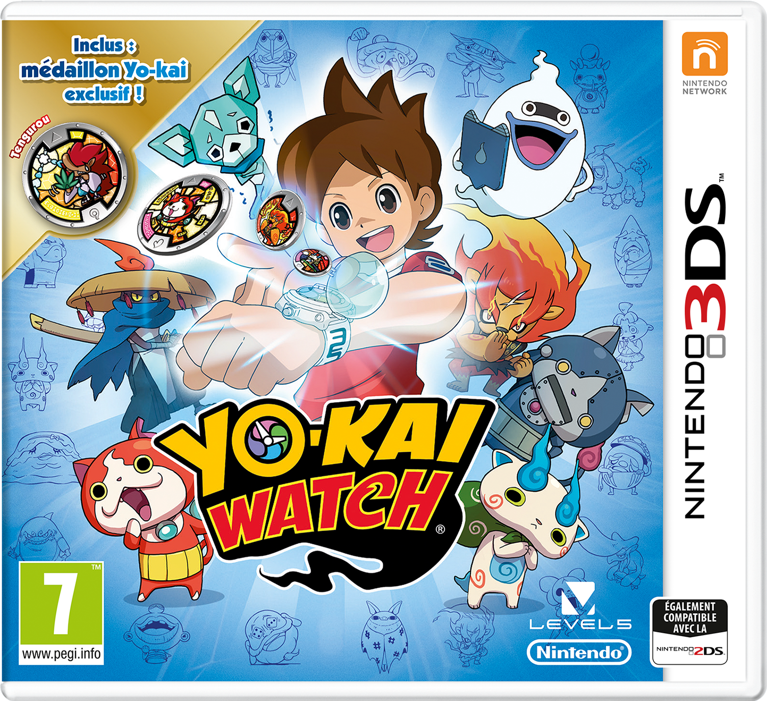 Yo kai watch nintendo 3ds jeux vid o for Chambre yo kai watch