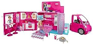 barbie bjn62 accessoire pour poup e camping car jeux et jouets. Black Bedroom Furniture Sets. Home Design Ideas