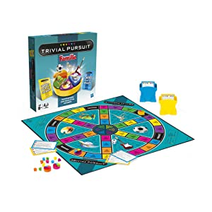 hasbro 730134470 jeu de soci t trivial pursuit. Black Bedroom Furniture Sets. Home Design Ideas
