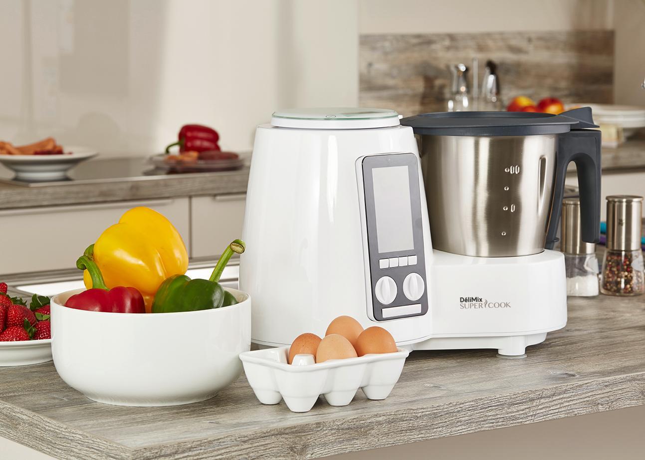 Sim o qc360 robot cuiseur delimix cuisine maison for Appareil cuisson vapeur douce