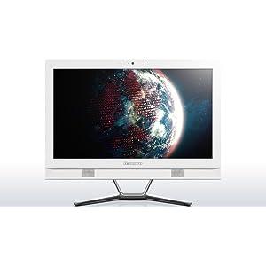 """Lenovo C40-30 Ordinateur Tout-en-Un 21"""" Blanc (Intel Core"""