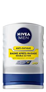 baume après-rasage Q10 double action nivea men