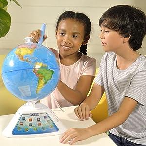 oregon scientific globe interactif smartglobe discovery version fran aise jeux. Black Bedroom Furniture Sets. Home Design Ideas