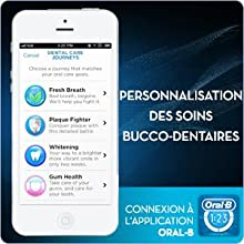 Oral B Pro 5000 Crossaction Brosse à Dents Electrique avec Technologie Bluetooth