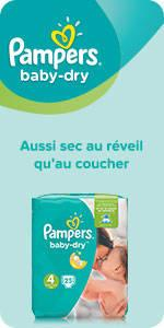 pampers baby dry couches taille 4 9 18 kg jumbo. Black Bedroom Furniture Sets. Home Design Ideas