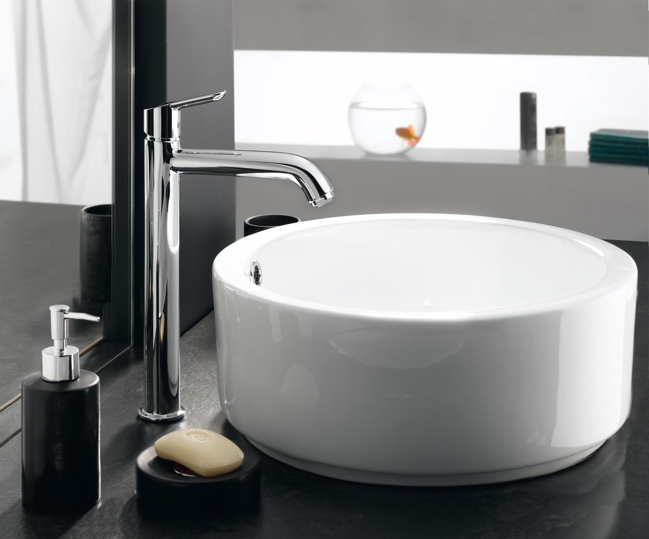 Hansgrohe mitigeur de lavabo design bec haut sportive xl for Amazon lavabos