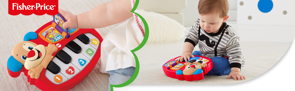 Fisher-Price Rires & Eveil Le Piano de Puppy
