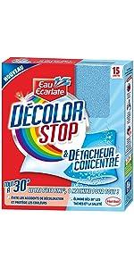 anti decoration, detacheur, decolor stop, accidents de décoloration de linge