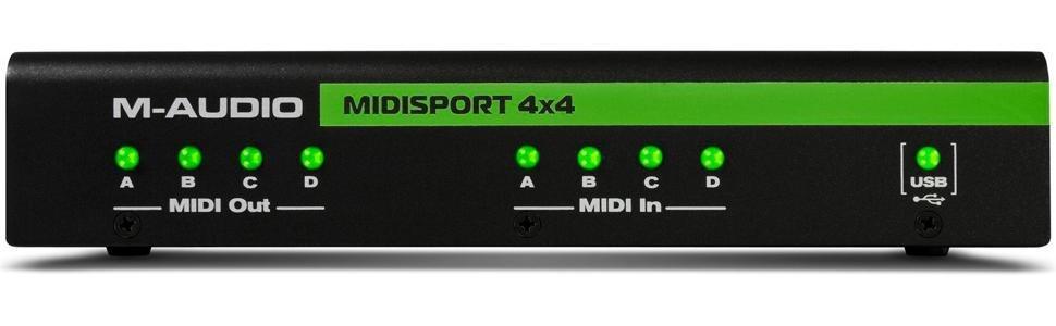 Midisport 4 X 4 Anniversary Edition 4-in//4-out MIDI Interface