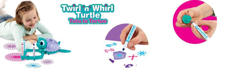 Crayola 10667 tutu la tortue jeux et jouets - Dessiner des rosaces ...
