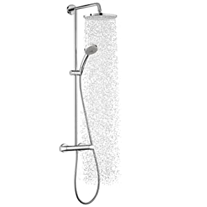 hansgrohe colonne de douche showerpipe verso 240 chrom 27205000 bricolage. Black Bedroom Furniture Sets. Home Design Ideas