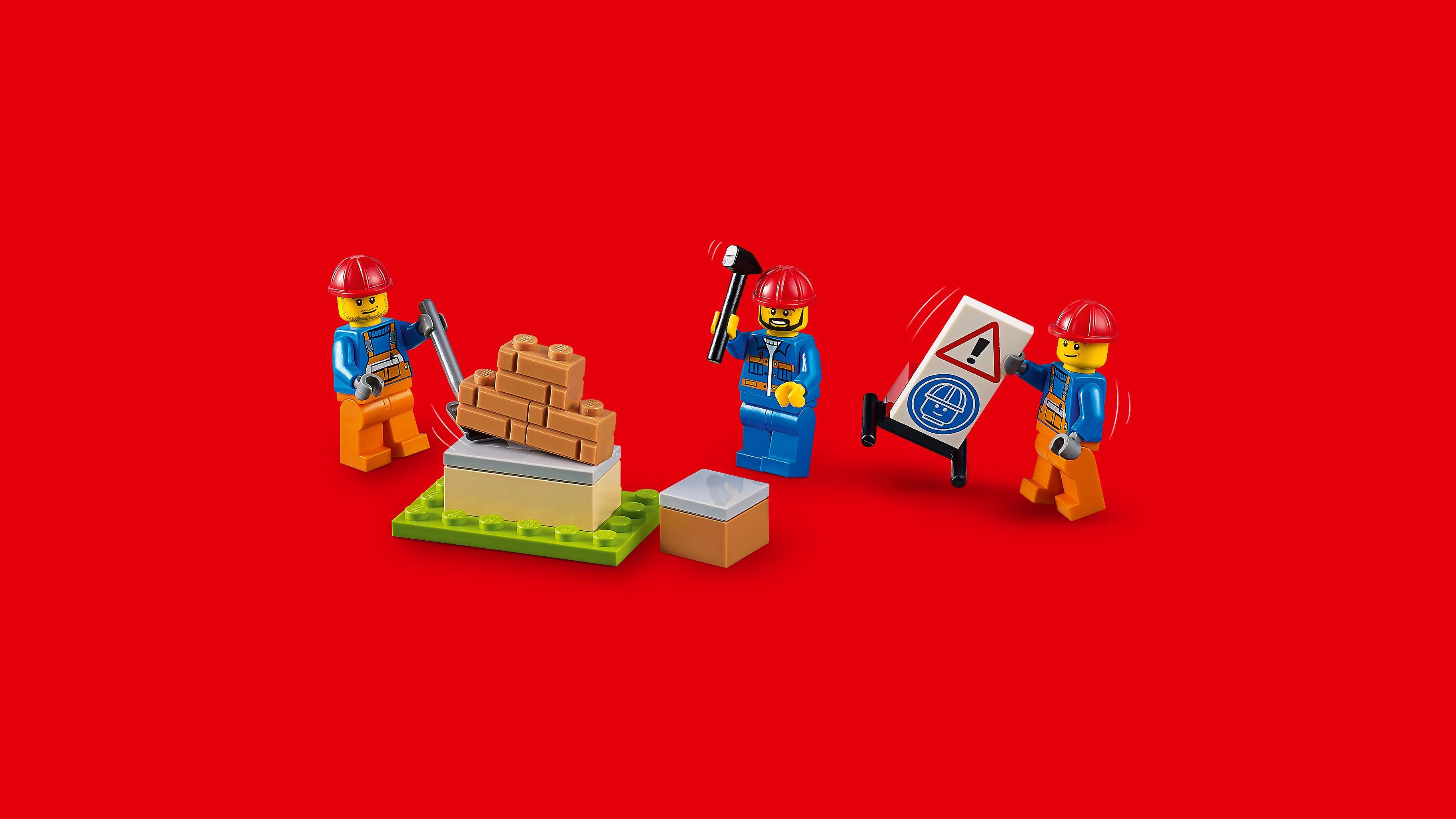 lego juniors le chantier de d molition 10734 jeu de construction jeux et jouets. Black Bedroom Furniture Sets. Home Design Ideas
