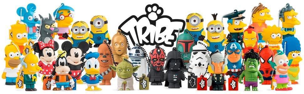 tribe fd007404 disney star wars pendrive figurine 8 go. Black Bedroom Furniture Sets. Home Design Ideas