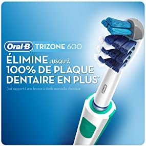 oral b pro 600 trizone brosse dents lectrique rechargeable hygi ne et soins du. Black Bedroom Furniture Sets. Home Design Ideas