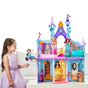 Disney Princesses B8311 Château Amazonfr Jeux Et Jouets