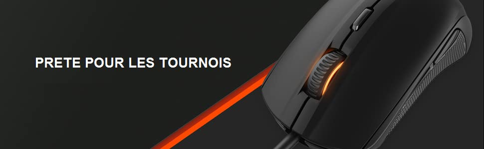 SteelSeries Rival 100 Souris Gaming Optique