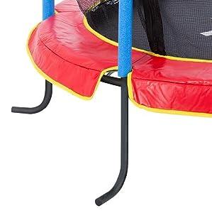 trampoline d 39 int rieur pour enfants jumper 140 cm ultrasport avec filet de s curit. Black Bedroom Furniture Sets. Home Design Ideas