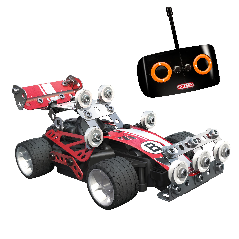 meccano 6026720 jeu de construction buggy de course radiocommand jeux et jouets. Black Bedroom Furniture Sets. Home Design Ideas
