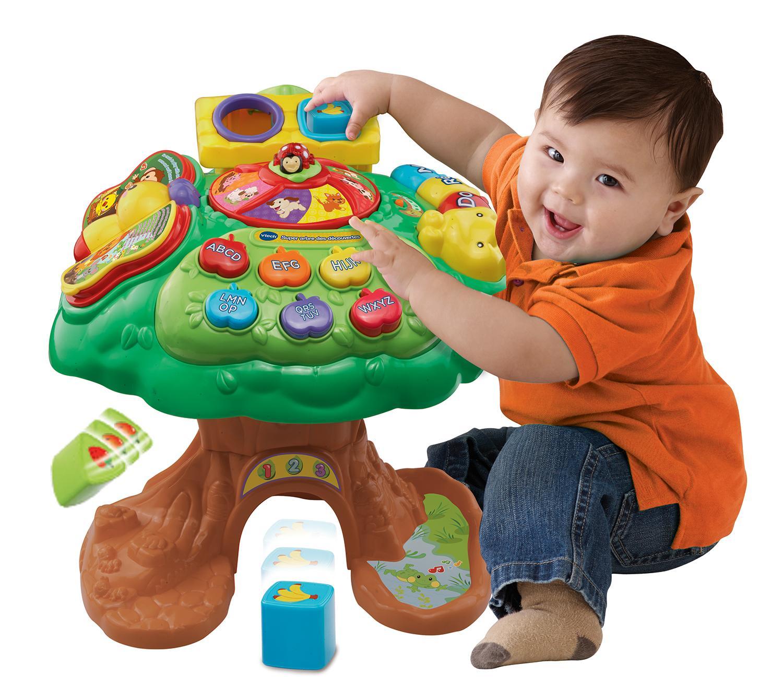 Vtech 181205 centre d 39 activit super arbre des for Arbre maison jouet