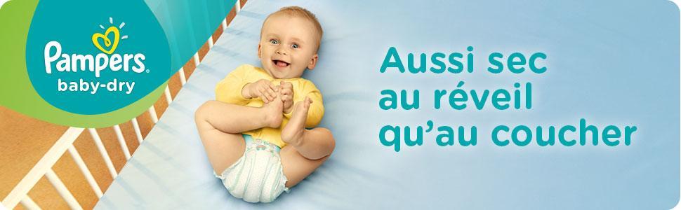 Les Couches Baby Dry Le pack Économique un mois de consommation Pampers