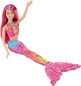 Barbie - DHM47 - Sirène - Arc en Ciel - Multicolore