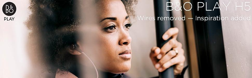 Bang, Olufsen, Beoplay H5, Casque audio sans fil Bluetooth, Écouteurs sans fil Bluetooth