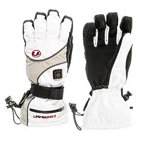 ultrasport gants de snowboard chauffants femme sports et loisirs. Black Bedroom Furniture Sets. Home Design Ideas