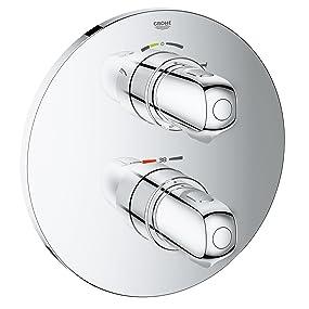 """""""Accessoires pour salle de bains Façade de commande, raccords muraux, mitigeur thermostatique encas"""