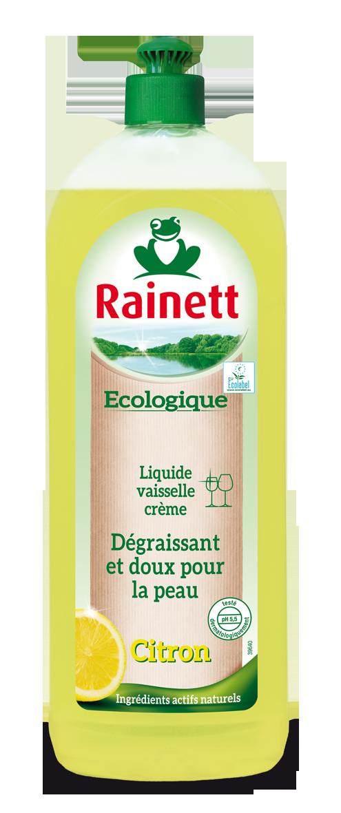 rainett liquide vaisselle ecologique au citron peaux sensibles ecolabel 750 ml lot de 4 amazon. Black Bedroom Furniture Sets. Home Design Ideas