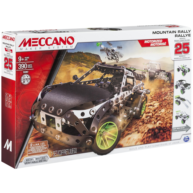 meccano 6026397 jeu de construction rallye 25 mod les motoris s jeux et jouets. Black Bedroom Furniture Sets. Home Design Ideas
