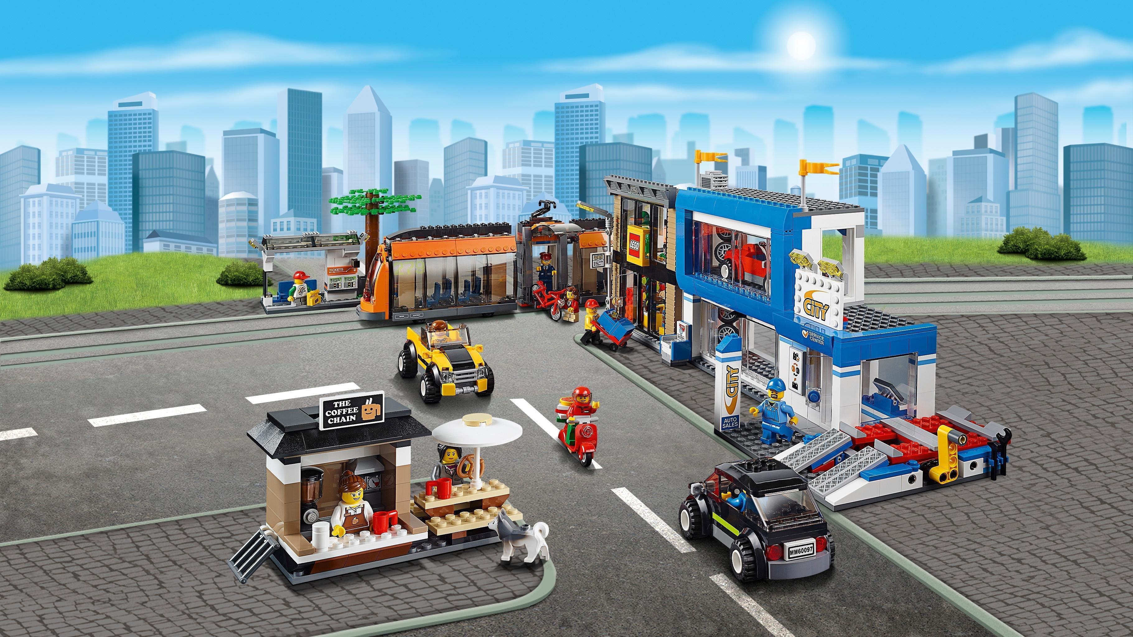 Amazon Lego City Centre Ville
