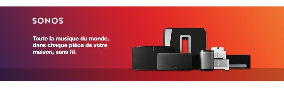 Sonos Play:1 Enceinte sans fil Noir: Audio & HiFi