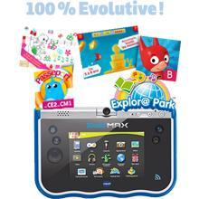 vtech 80 183805 am5 tablette storio max 5 pouces bleu jeux et jouets. Black Bedroom Furniture Sets. Home Design Ideas