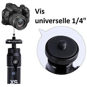 accessoire action cam xsories perche telescopique u-shot