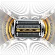 BRAUN Series 9 9296cc Technologie Wet&Dry/Système Clean&Charge Rasoir Électrique Chrome Premium