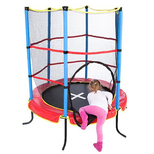 ultrasport trampoline d 39 int rieur pour enfants jumper 140. Black Bedroom Furniture Sets. Home Design Ideas