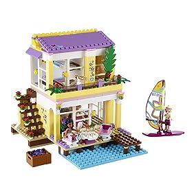 lego friends 41037 jeu de construction la villa sur la plage jeux et jouets. Black Bedroom Furniture Sets. Home Design Ideas