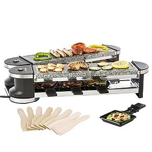 Ultratec cuisine raclette rg1200s gril articul duo 4 four raclette avec - Appareil a raclette long ...