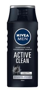 shampooing active clean nivea men