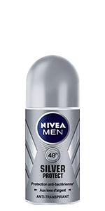 déo nivea men silver protect bille