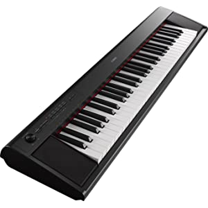 yamaha np12wh clavier 61 touches dynamiques - blanc
