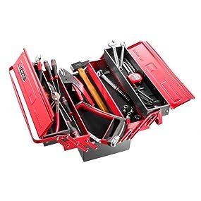 Facom caisse m tal 32 outils bricolage - Caisse a outils facom complete ...